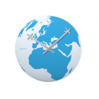 Around the World Wall Clock