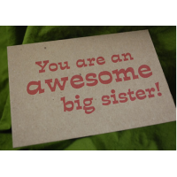 You Are An Awesome Big Sister