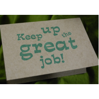 Keep Up the Great Job!