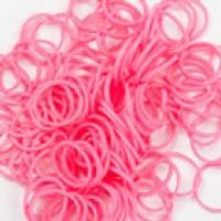 Rainbow Loom Elastic Pink