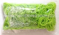 Rainbow Loom Elastic Green