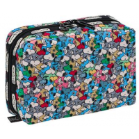 LeSportsac Snoopy Mini XL Rectangular Cosmetic
