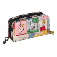 LeSportsac Snoopy Patchwork Rectangular Cosmetic