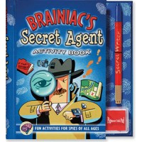 Braniac's Secret Agent Activity Book