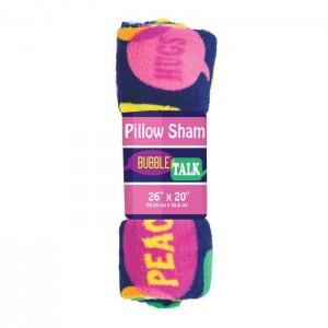 Pillowcase Plush Sham Bubble Talk