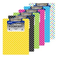 Clipboard- Polka Dots