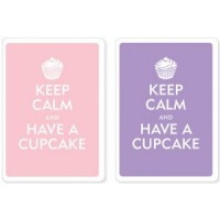 Keep Calm and Have a Cupcake Playing Cards