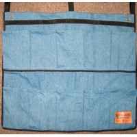 Caddy- Shoe Bag Denim