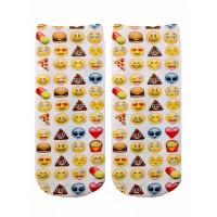 -Printed Socks- Emoji