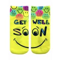 -Printed Socks- Get Well Soon