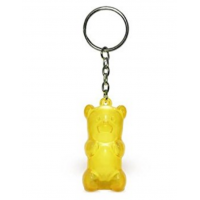 Gummy Bear Keychain Yellow