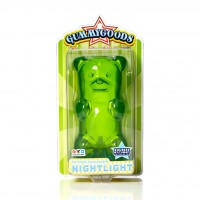 Gummy Bear Night Light Green