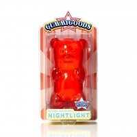 Gummy Bear Night Light Red