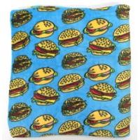 Plush Blanket Hamburger