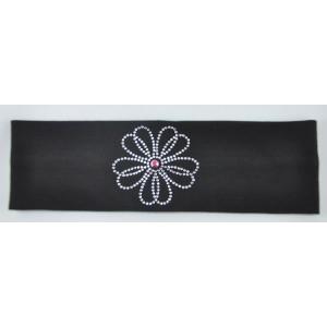 Headband Flower Rhinestone