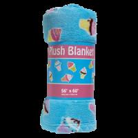 Plush Blanket Ice Cream Cone
