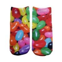 -Printed Socks- Jellybeans