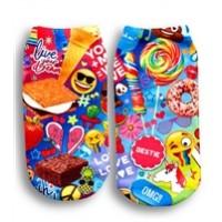 Socks- Pow Print
