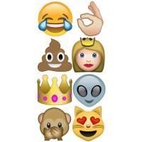 Decals- Even More Emoji -idecoz