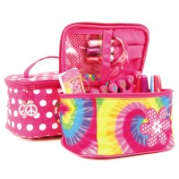Cosmetic/Toiletry Bag - Tie Dye or Polka Dots