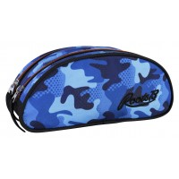 Pencil Case- Blue Camo