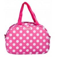 Polka Dot Lunch Bag Pink