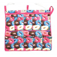 Caddy Shoe Bag Crazy Donuts