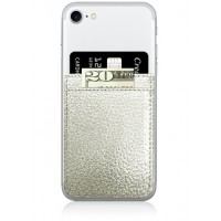 Phone Pocket- Silver