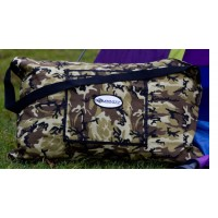Pillow Bag Green Camouflage
