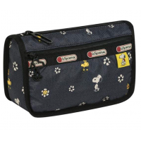 LeSportsac Snoopy Daisy Travel Cosmetic