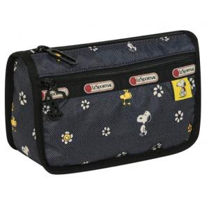 LeSportsac Snoopy Daisy Travel Cosmetic