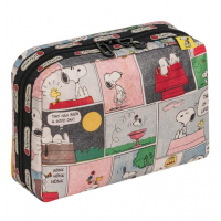 LeSportsac Snoopy Patchwork XL Rectangular Cosmetic