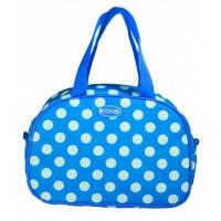 Polka Dot Lunch Bag Blue