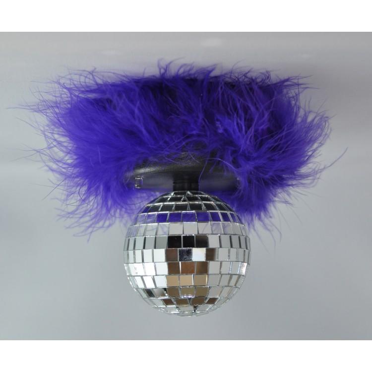 Rockin Disco Ball Purple