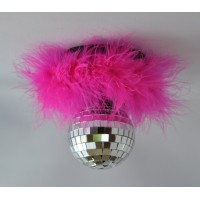 Rockin' Disco Ball Fucshia