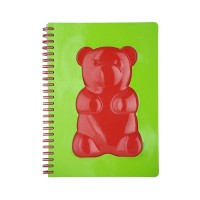 Gummy Bear Journal -Red
