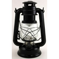 Hurricane LED Lantern black- medium
