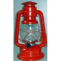 Hurricane LED Lantern red- medium