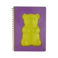 Gummy Bear Journal -Yellow