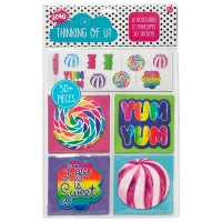 Mini Notecard Set- Candy