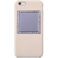 Selfie Mirror for Phone/Tech- Square Crystals