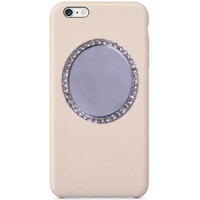 Selfie Mirror for Phone/Tech- Oval Crystals