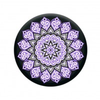 PopSocket- Peace Mandala Purple