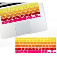 Flapjacks- Flexible Keyboard Cover- Tequila Sunrise
