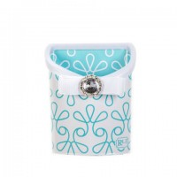 Magnetic Locker Bin Aqua Swirl