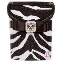 Magnetic Locker Bin- Black/White Zebra