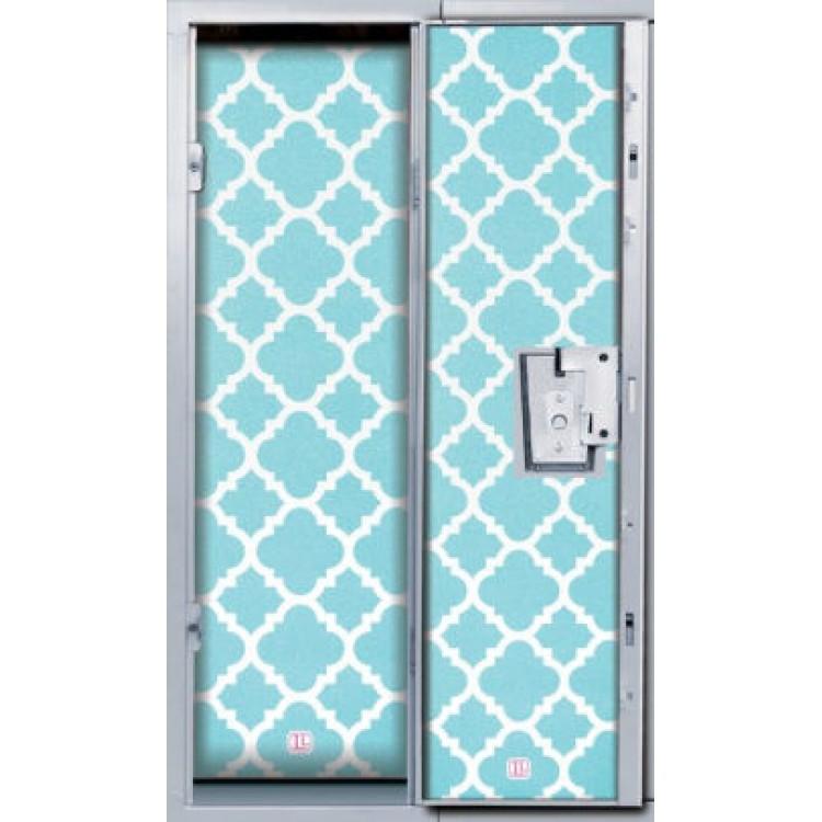 Locker Wallpaper Blue Glitter