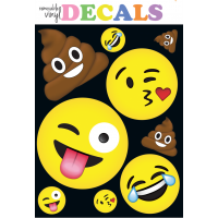 Decal- Emoji- Large- iscream