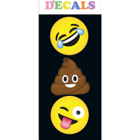 Decal- Emoji - Small- iscream