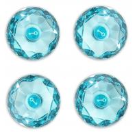 Gem Magnets- Aqua